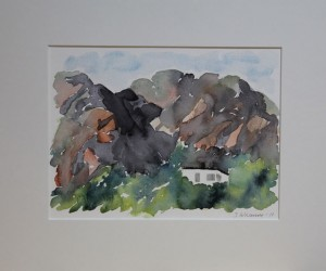 Huset under berget