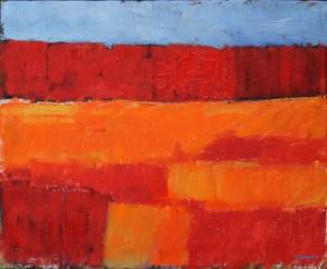 Landskap i rött