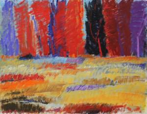 Rött landskap